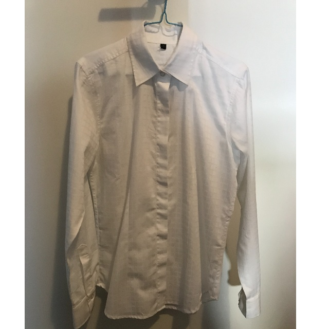 BNWT Peter Williams white dress/show equestrian shirt