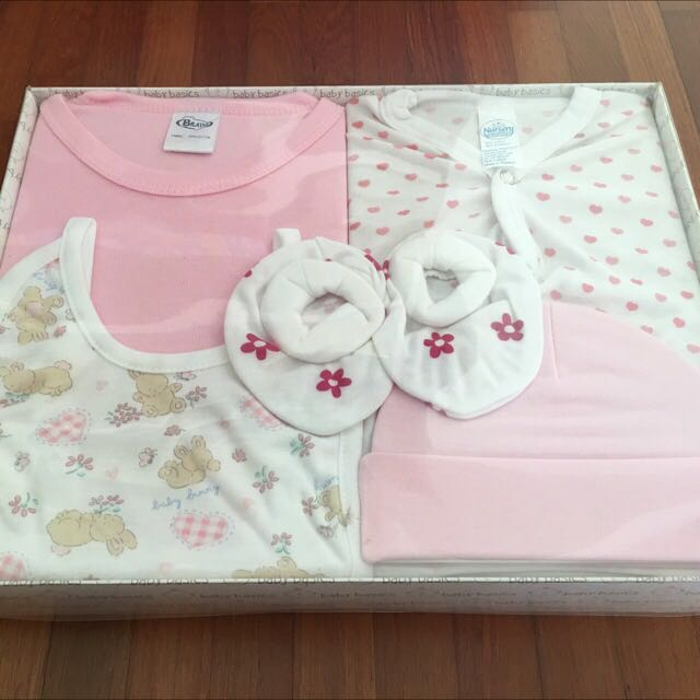 Bravo 5 Pieces Baby Girl Gift Set