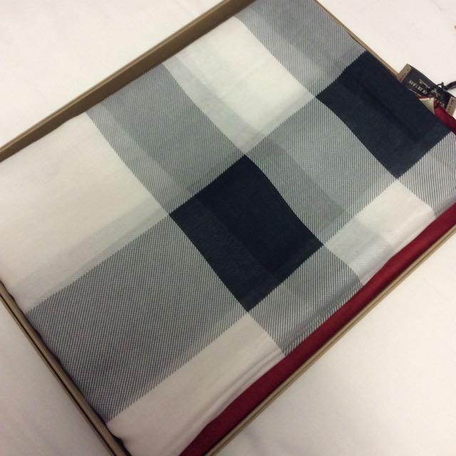 Burberry 圍巾 絲巾 格紋