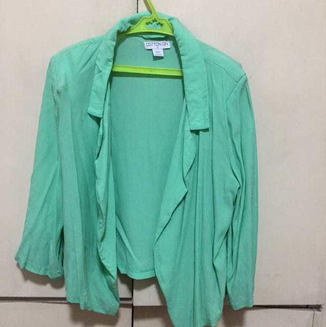 Cotton On Mint Green Blazer (M)
