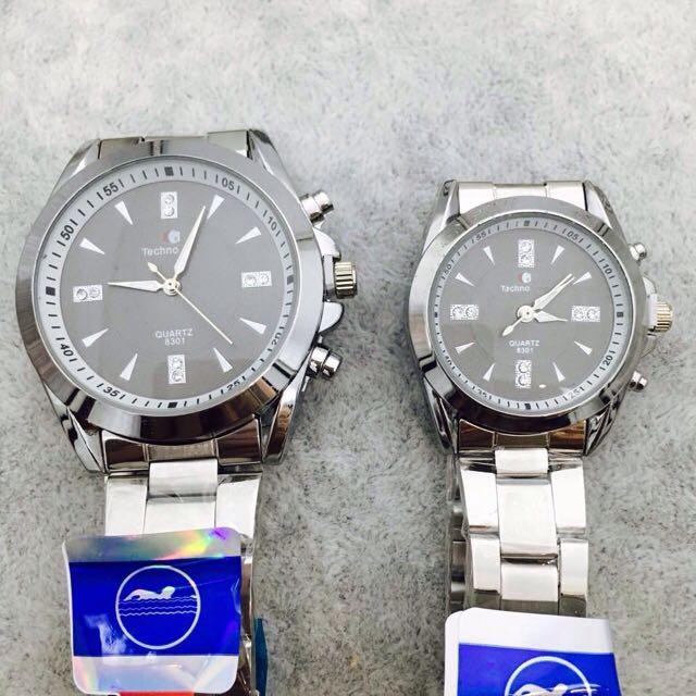 Couple Techno Watch