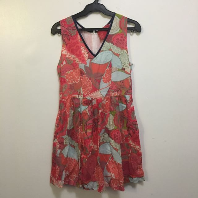 Dazzle Spirea Floral Dress