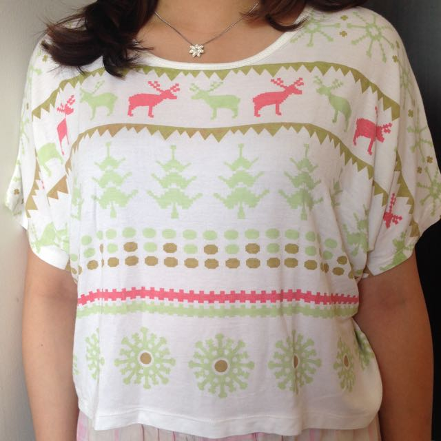 Deer Crop Top
