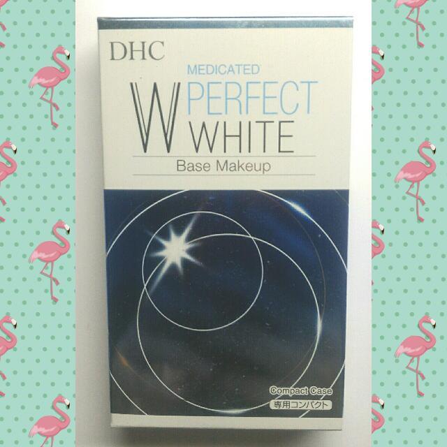 DHC 完美淨白防曬兩用粉餅專用盒(贈送專用海綿,市價50)