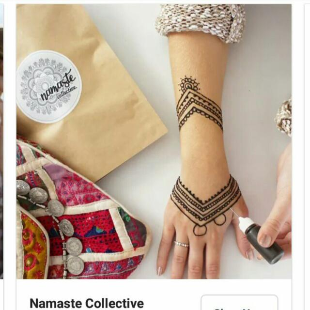 DIY henna pack by namaste collective