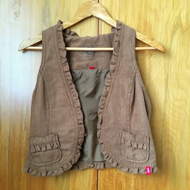 Edc Brown Vest