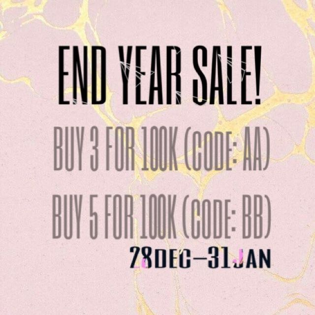 END YEAR SALE BY LA•LUNE