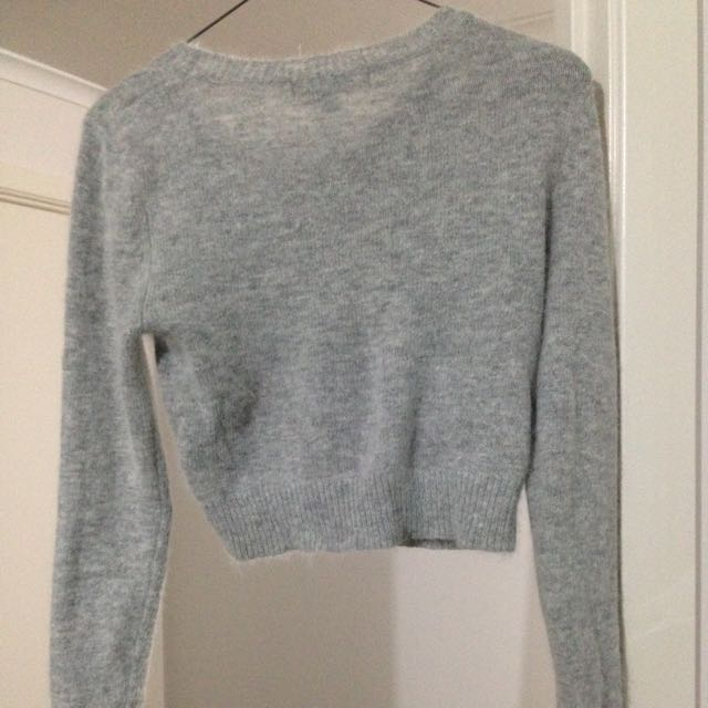 Forever New Cropped Knit Jumper