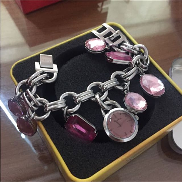 Fossil Pink Jewel Watch (AUTHENTIC GUARANTEE)