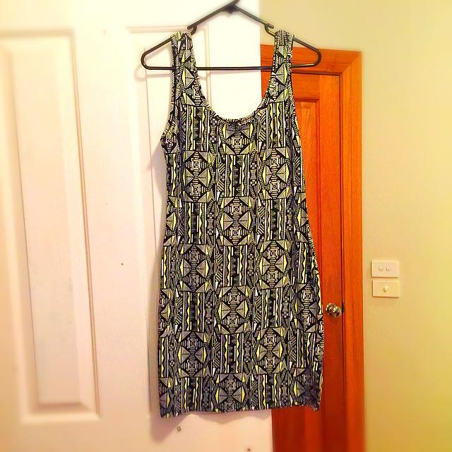 Free Fusion Pattern Dress