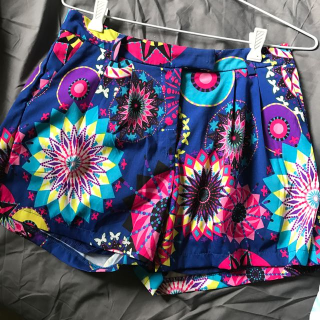 Fun Print Shorts