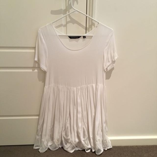 Glassons White Mini Dress