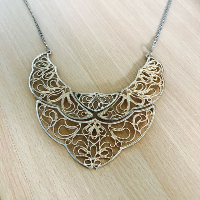 Gold Detailed Necklace