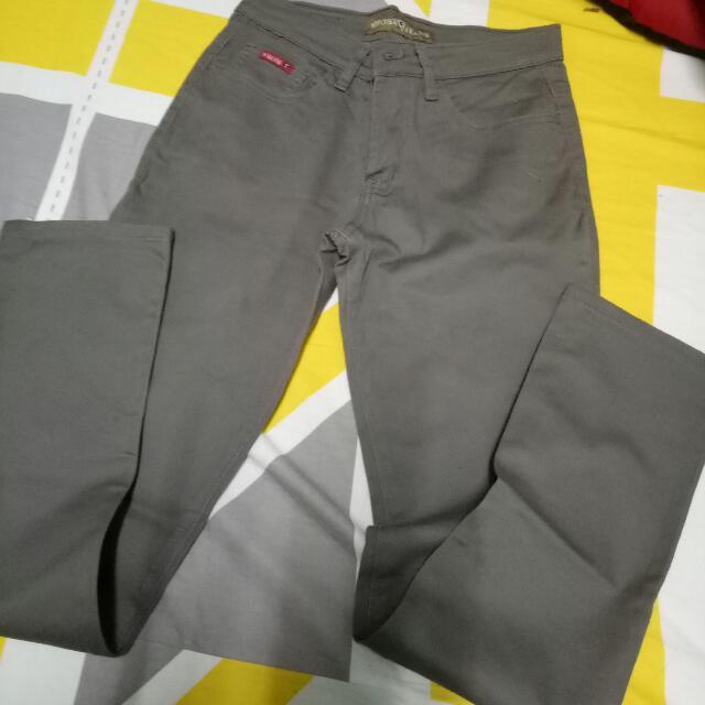Gray Pants WHOSE brand