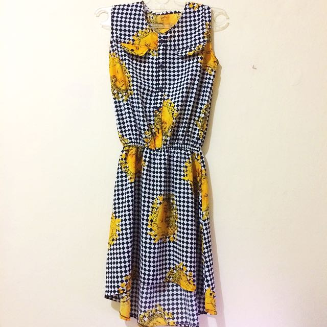 Griddy Sun Midi DRESS