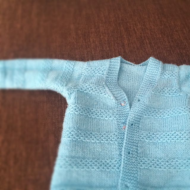 Hand Knitted Jumper Unisex(0-6M)