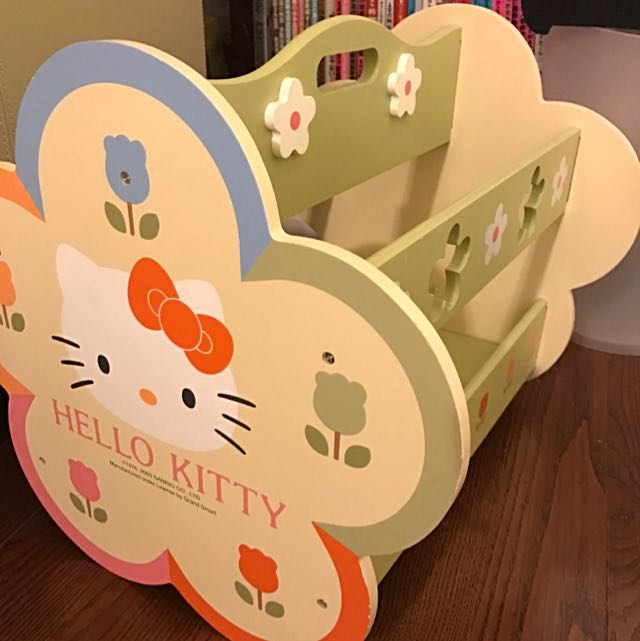 Hello Kitty Magazine Rack