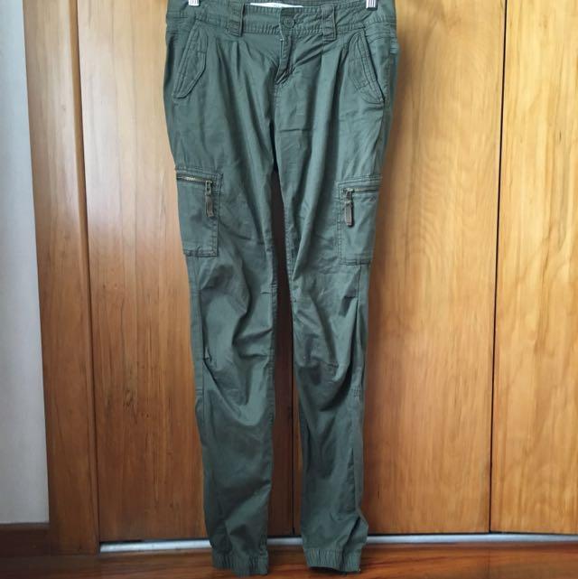 H&M Khaki Trousers