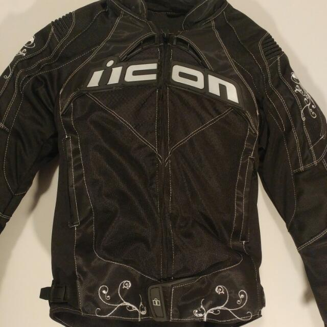 ICON WOMENS CONTRA SPEED QUEEN MOTORCYCLE JACKET