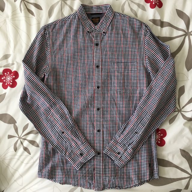 Industrie Gingham Long Sleeve Shirt