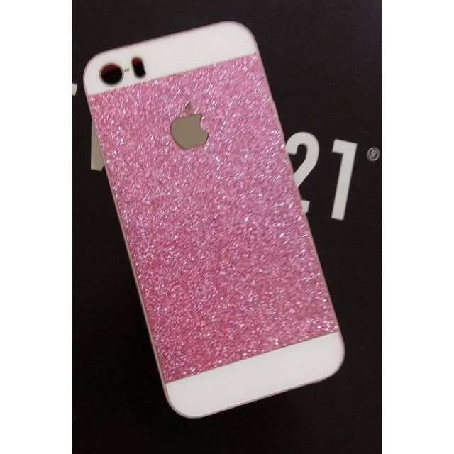 Iphone 5 Glittery Pink Case