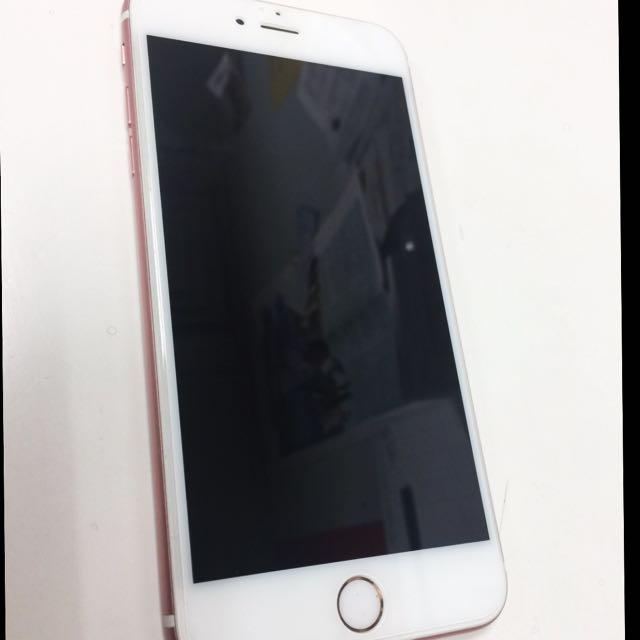 iPhone 6S Plus 玫瑰金128g(保存良好