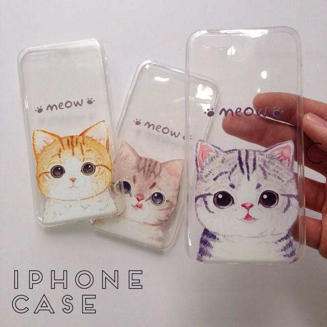 iPhone Cat Case for iPhone 6 6S 6+ 6S+