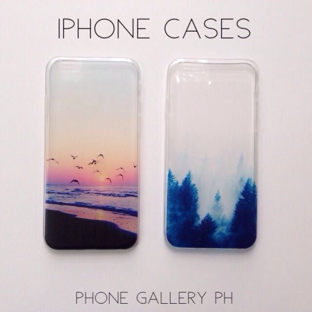 iPhone Clear Cases for iPhone 5 5S SE 6 6S 6+ 6S+
