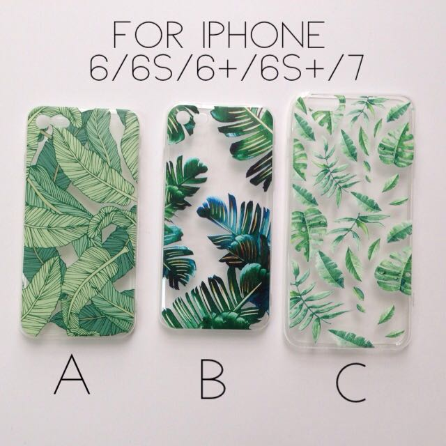 iPhone Leaves Case for iPhone 6 6S 6+ 6S+ 7