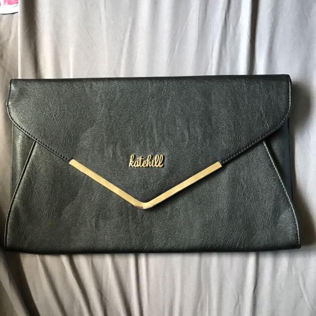 Kate Hill Envelope Clutch