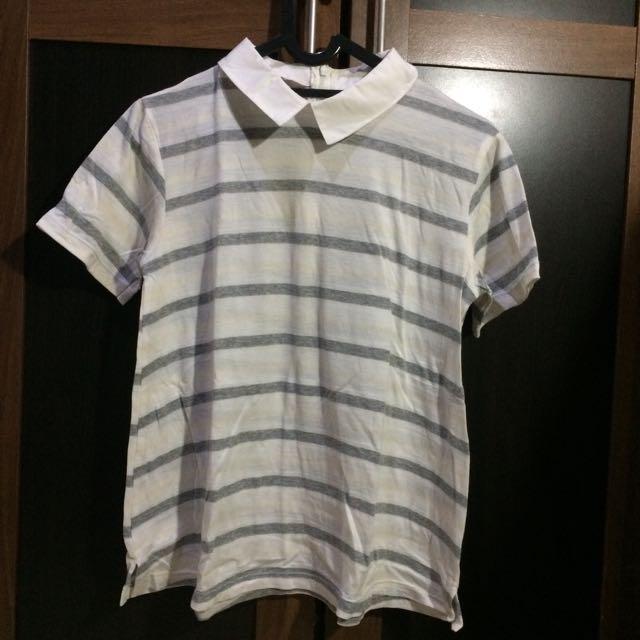 """""""Kivee"""" collar shirt"""