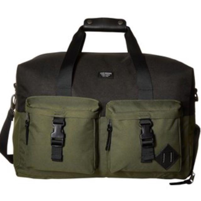 7a7d80309a2 LAST PC! Authentic Steve Madden (black/olive) Weekender Duffel Bag ...