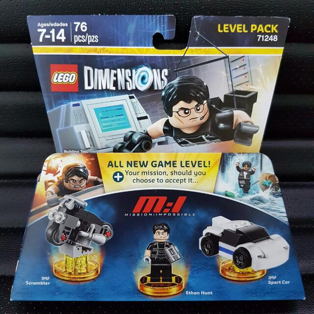 TOP Lego Dimensions 71248 Level Pack  Mission Impossible