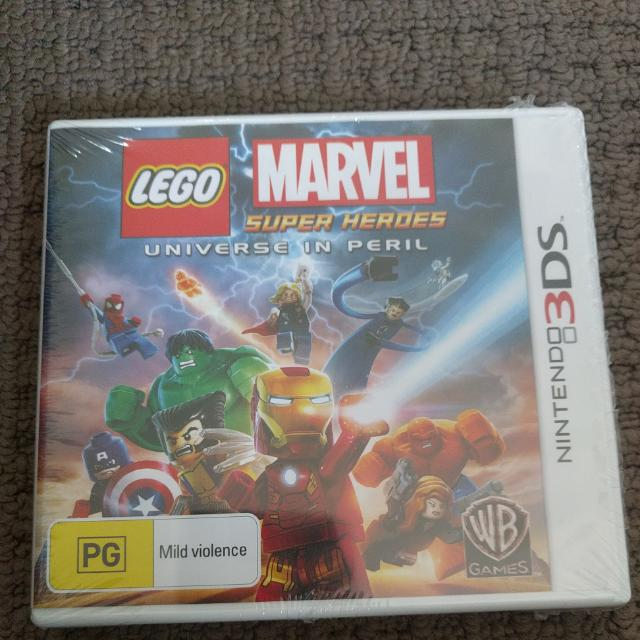 Lego Marvel For 3ds