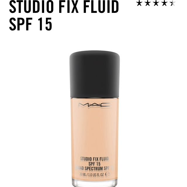 Mac Studio Fix Foundation NW15
