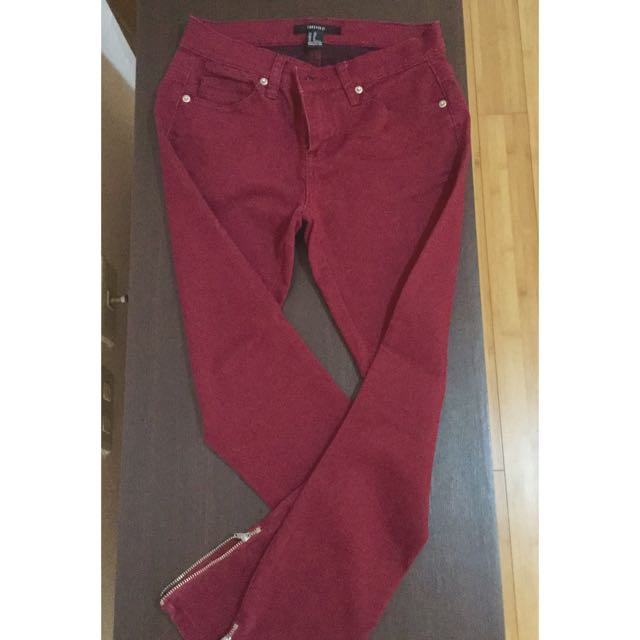 Maroon Pants from F21
