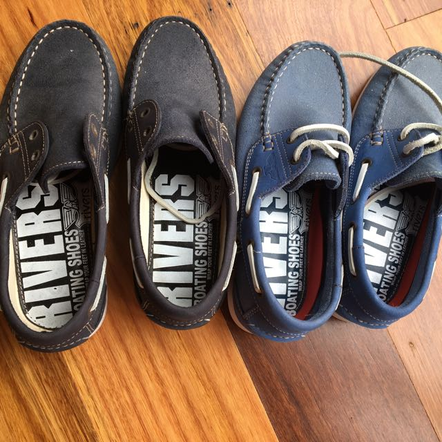 Men Rivers Shoes Two Pairs