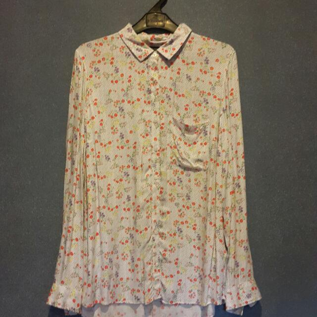 M&S COLLECTION Flowery Blouse