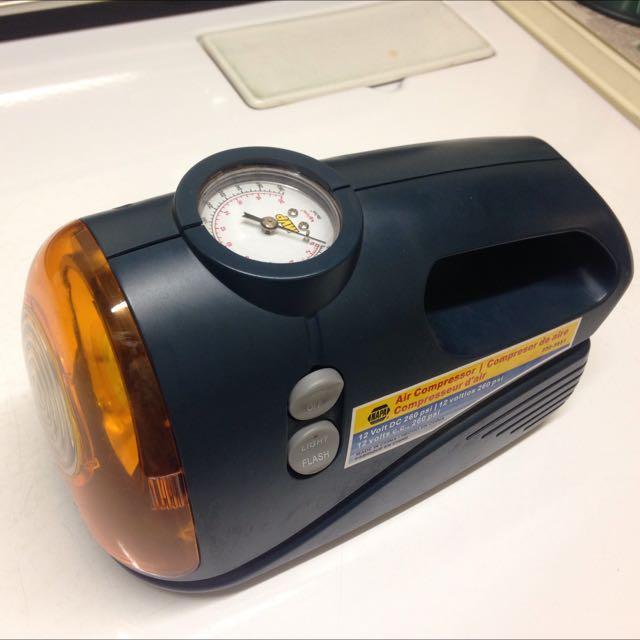 Napa 12v Portable Air Compressor