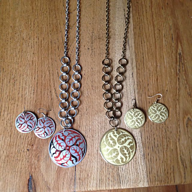Necklaces And Matching Earrings