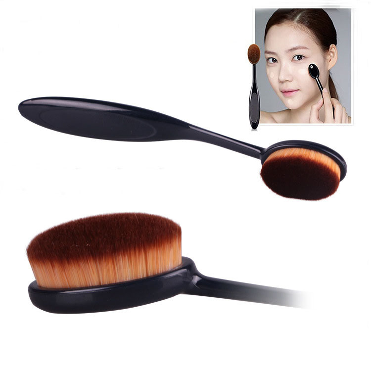 (New) Oval Foundation Brush/Kuas Wajah/Kuas Make up