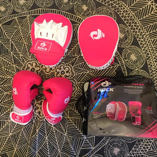 Pink Boxing Set