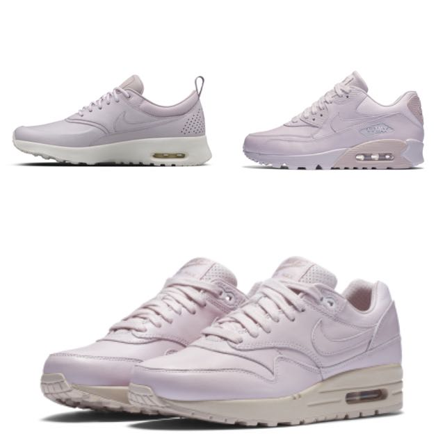 Nike Air Max 1/ 90/ Thea In Lavender