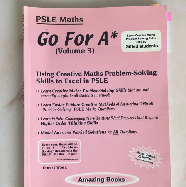 Psle Math Go For A Star Book, Books & Stationery, Textbooks