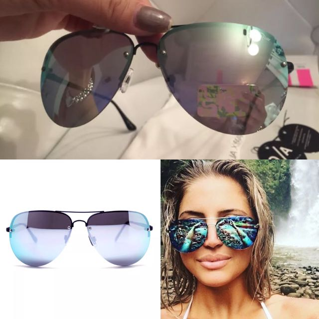 Quay X Amanda Purple Muse Sunglasses