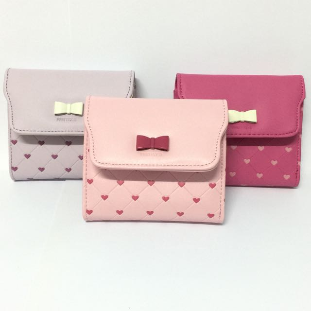 Ribbon Short Wallet 🎀
