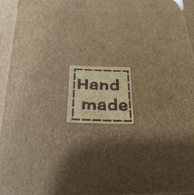 Sealing Sticker, Hand Made