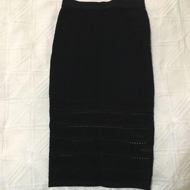 Sheike Knit Skirt