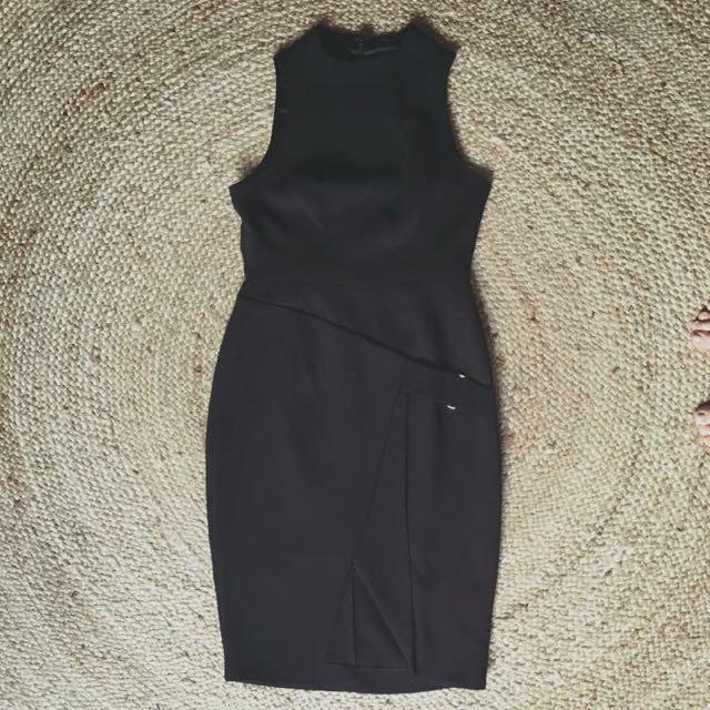 Shieke Size 10 Black Dress