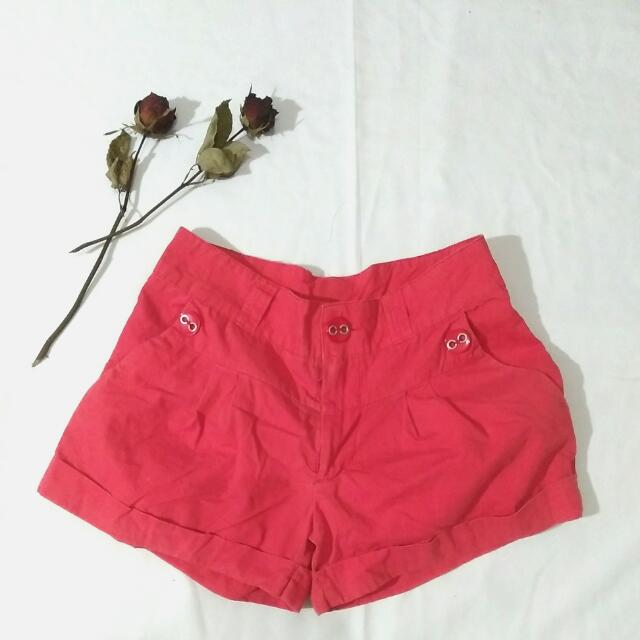 Short Red Pants (Brand: Cool)